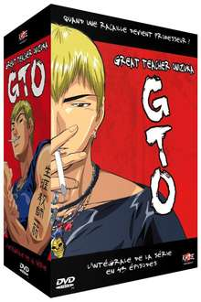 Coffret DVD GTO - Great Teacher Onizuka - L'Intégrale