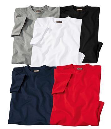 Lot de 5 t-shirts