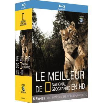 Précommande : coffret Blu-ray Le Meilleur de National Geographic en HD (5 disques)