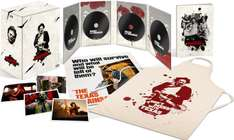 Coffret Blu-Ray : Massacre à la tronçonneuse - Edition collector restaurée 4K
