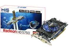 Carte Graphique HIS H575FN1GD iCooler IV Radeon HD5750 1Go paiement via Buyster