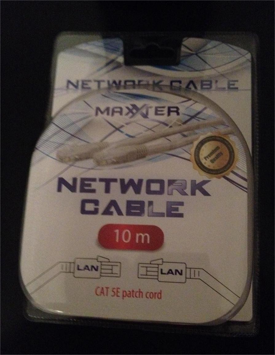 Câble ethernet 10 mètres