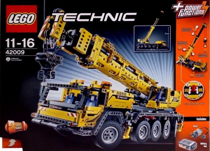 Jeu Lego Technic 42009 : Grue Mobile MK II