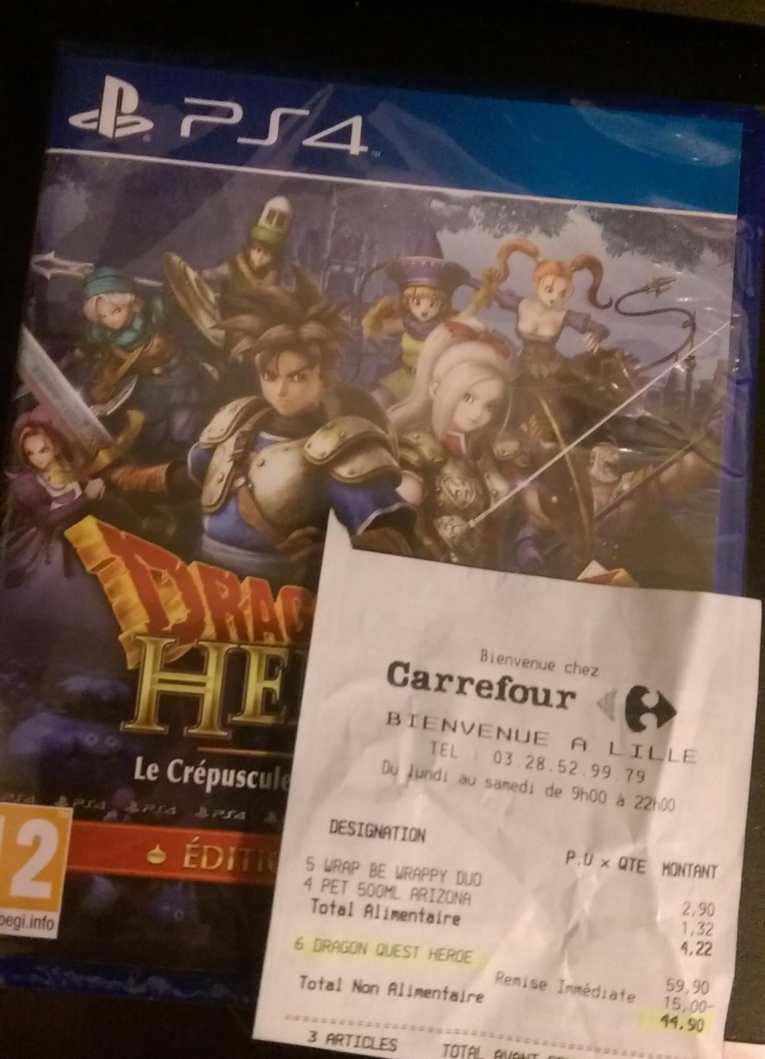Jeu Dragon Quest Heroes : Le Crépuscule de l'Arbre du Monde sur PS4