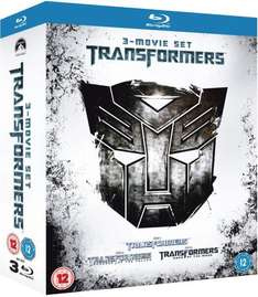 Coffret Blu-ray Trilogie Transformers 1-3