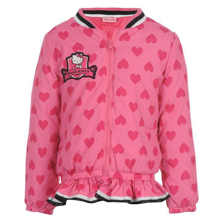 Sélection de vêtements pour enfants Hello Kitty - Ex : Manteau