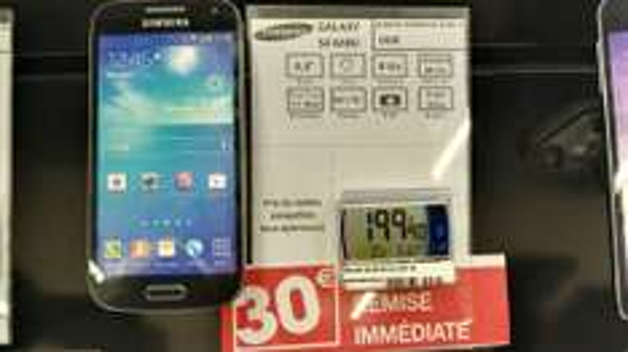 "Smartphone 4,3"" Samsung Galaxy S4 Mini Noir"