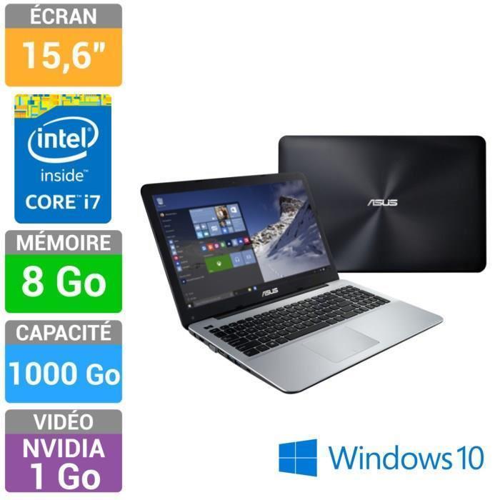 """PC portable 15,6"""" Asus K555LJ-XX062T  (i7-5500U - Mémoire 8Go - Stockage 1000Go - GT 920M)"""