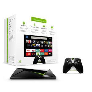 Lecteur multimédia Nvidia Shield Android TV 16 Go avec manette