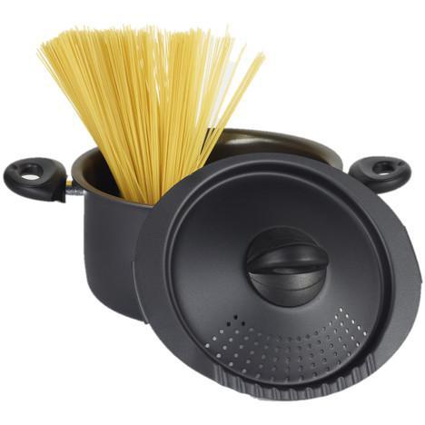 Cuit pâtes  Bialetti avec égouttoir intégré