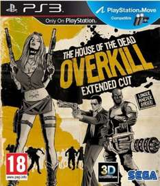 House Of The Dead Overkill Extended Cut - PS3 (Compatible Move)