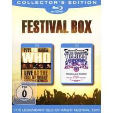 Bipack Île de Wight 1970 : The Who / The Moody Blues