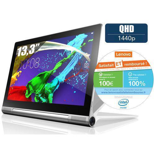 "Tablette 13.3"" Lenovo Yoga 2 Pro 32 Go - Gris métal (via ODR de 100€)"