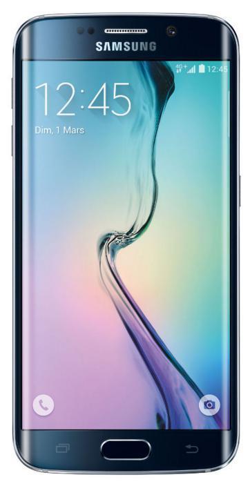 "Smartphone 5.1"" Samsung Galaxy S6 Edge Noir - 32 Go"