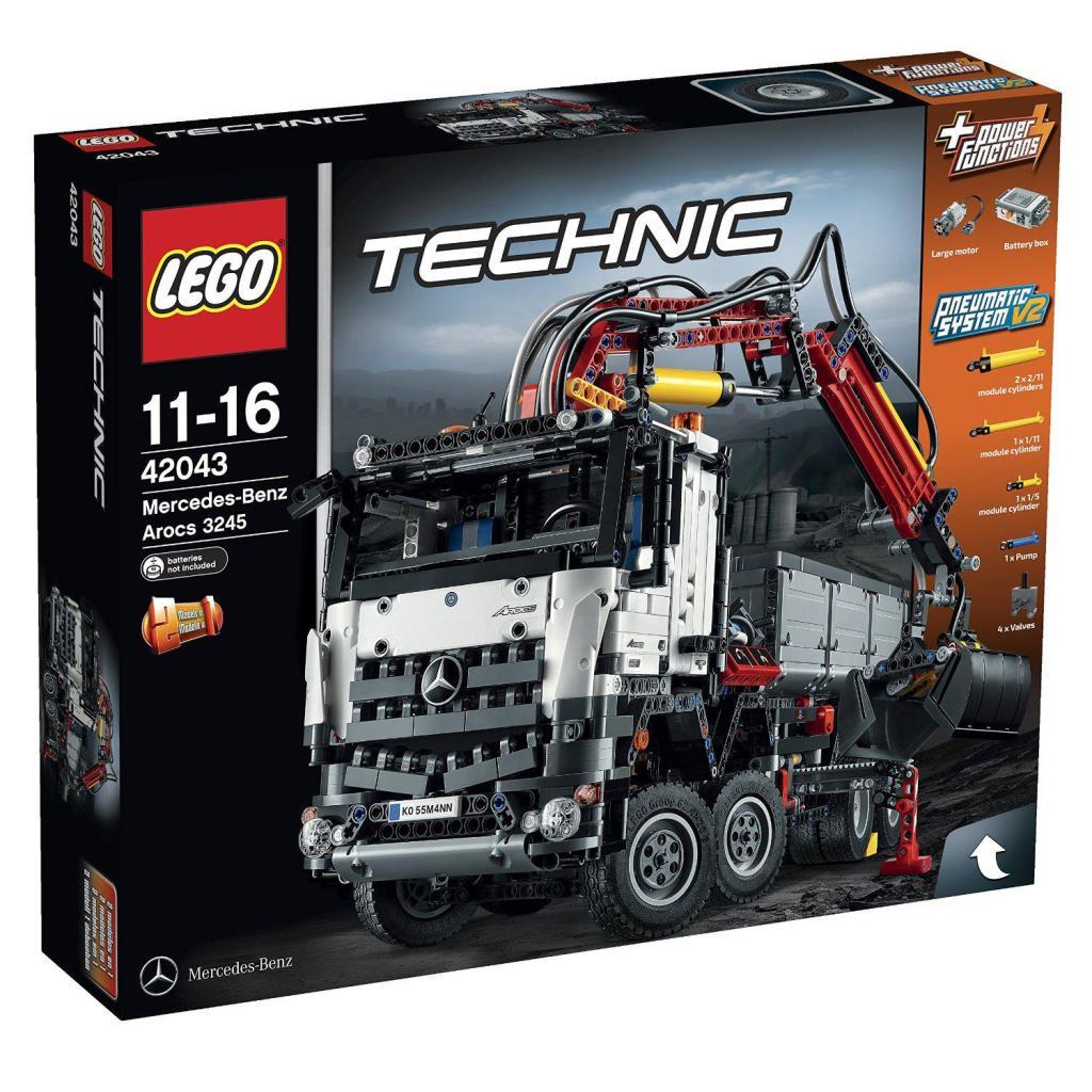 15% de réduction sur tous les jouets dès 50€ - Ex : Lego Technic - Grue Mobile MK II à 126.65€