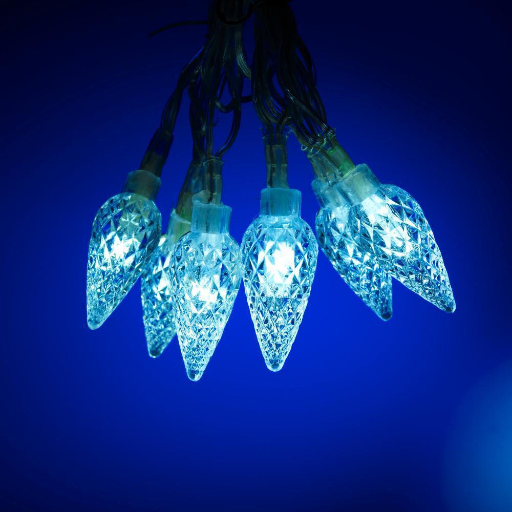 Jusqu'à 75% de réduction sur les décorations de Noël - Ex : Guirlande électrique 60 LED