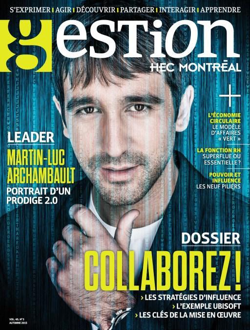 Numéro 403 du magazine Gestion gratuit en version numérique