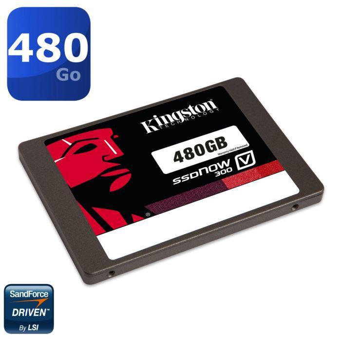 SSD Kingston SSDNow V300 Series - 480 Go