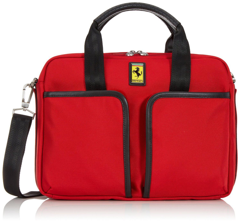 Sélection d'articles de maroquinerie Ferrari à très bons prix - Ex: Sac Ordinateur Ferrari Gran Turismo