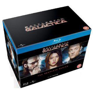Coffret Blu-ray Intégrale de Battlestar Galactica