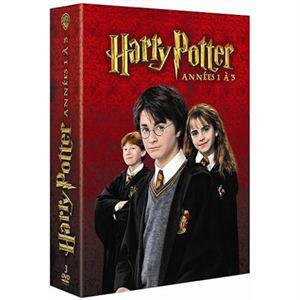 Harry Potter, vol. 1 à 3 - Coffret 3DVD