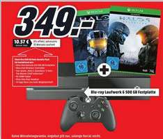 Pack console Xbox One 500 Go + Halo Double Pack