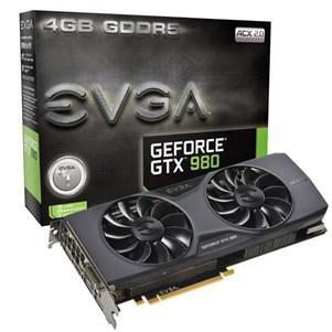 Carte graphique EVGA GeForce GTX 980 ACX 2.0 (4 Go, DDR5) + un jeu offert