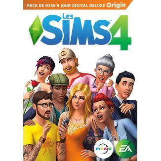 Pack Les Sims 4 - mise à jour Digital Deluxe gratuit