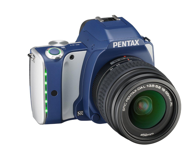 Appareil photo numérique Reflex Pentax K-S1 - 20 Mpix Bleu + Objectif 18-55 mm
