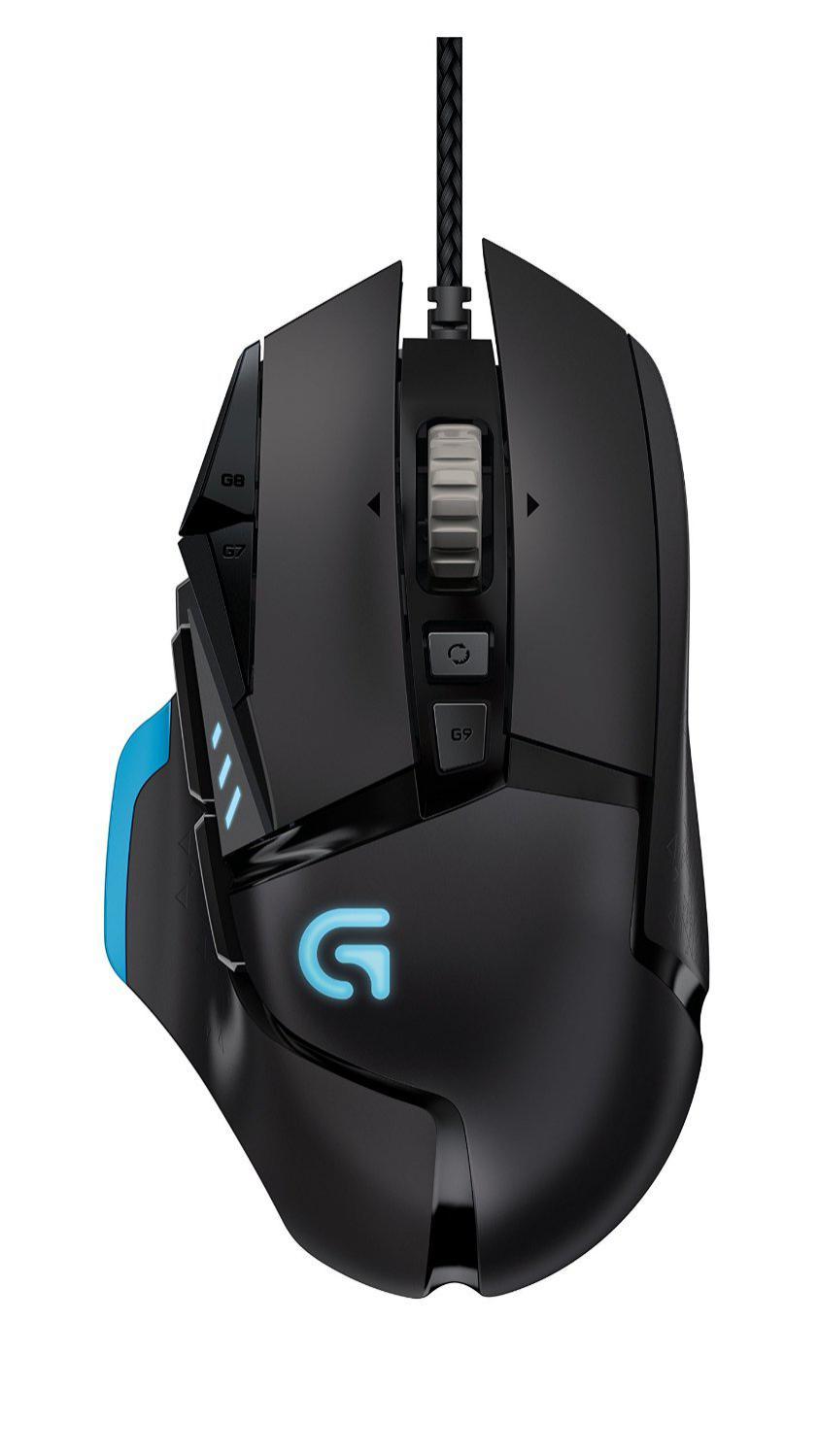 Logitech Gaming Day - Ex : Souris Gaming Logitech G502 Proteus Core - Noire