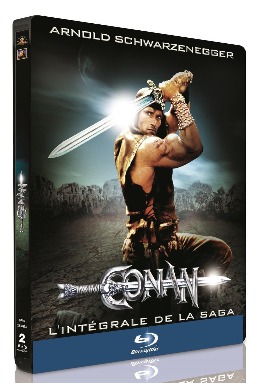 Blu Ray: Conan le barbare + Conan le destructeur - Édition Limitée SteelBook