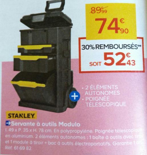 Servante a outils Modulo Stanley