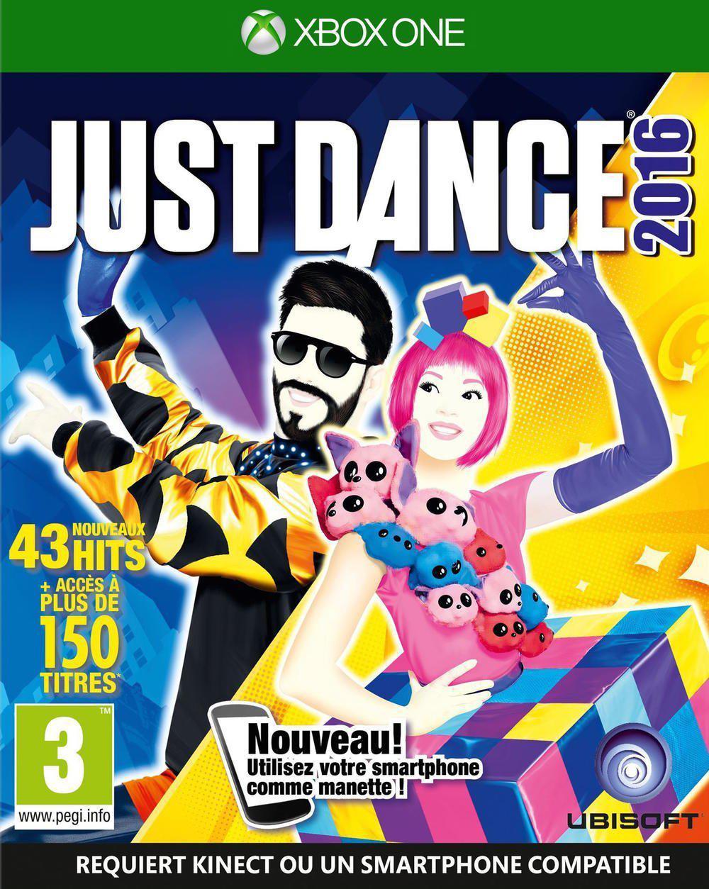 Jeu Just Dance 2016 sur Xbox One