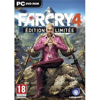Jeu Far Cry 4 Édition Limitée sur PC