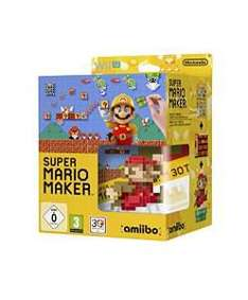 Super Mario Maker sur Wii U+ Amiibo Mario classique rouge