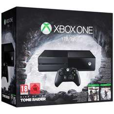 Console Microsoft Xbox One 1To + Rise of the Tomb Raider + Tomb Raider Definitive Edition