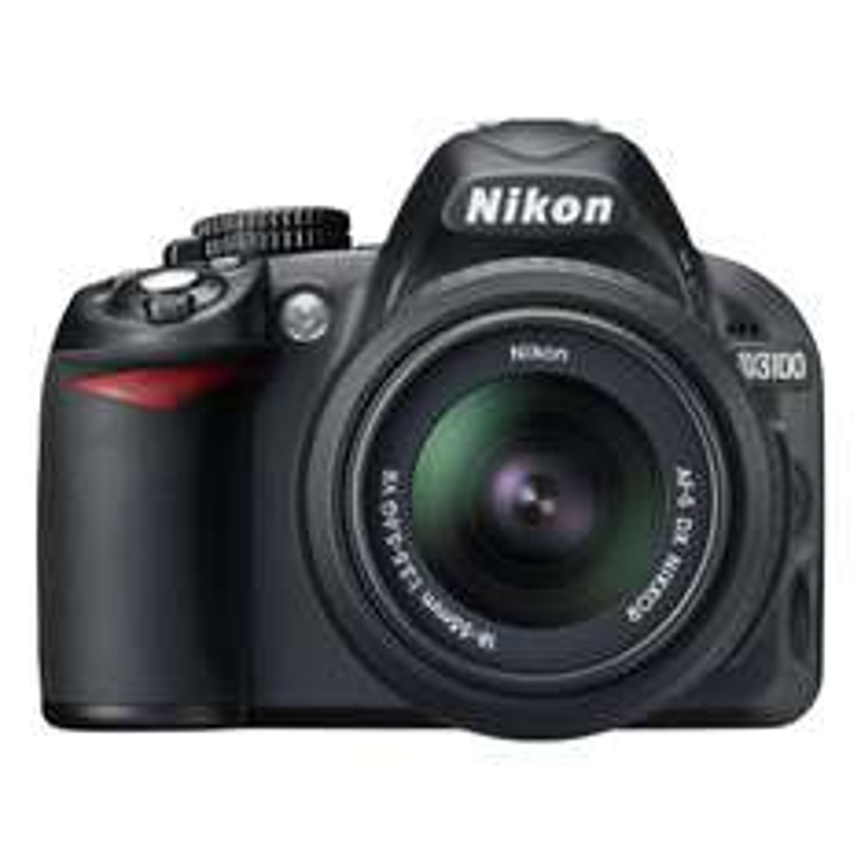 Reflex Nikon D3100 Noir + Obj. Nikon AF-S DX VR 18 - 55 mm f/3.5