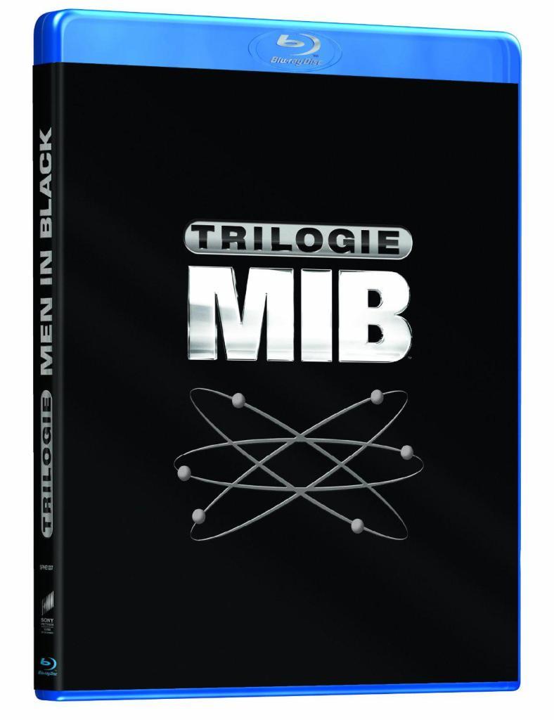 Sélection de coffrets DVD/Blu-ray en promotion - Ex : Blu-ray Trilogie Men in Black