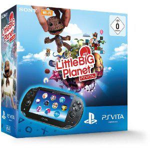 Console Sony PlayStation Vita + LittleBigPlanet (ou pour 165€ : Assassin's Creed 3 + Carte mémoire Sony 4 Go)
