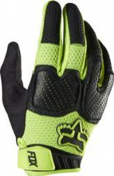 Paire de gants Fox Unabomber Fluo - Jaune