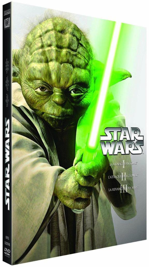 Coffret DVD Star Wars Prélogie - Episodes 1 à 3