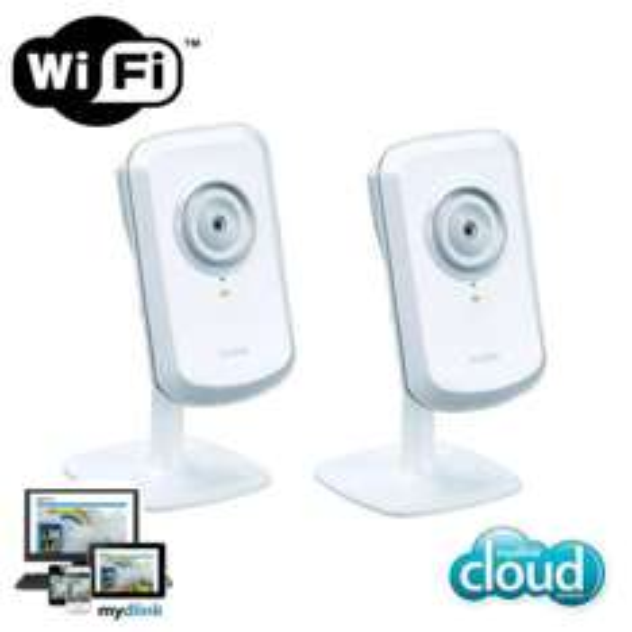 Lot de 2 Caméras IP D-Link sans fil DCS-930L