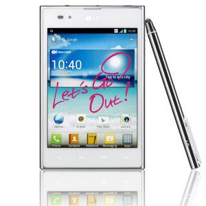Smartphone ( phablet ) LG Optimus VU quad core 1.5 GHz blanc