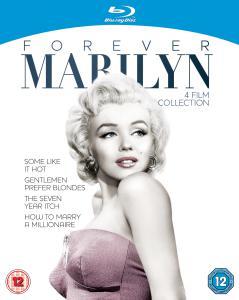 Coffret 4 Blu-ray Marylin Monroe