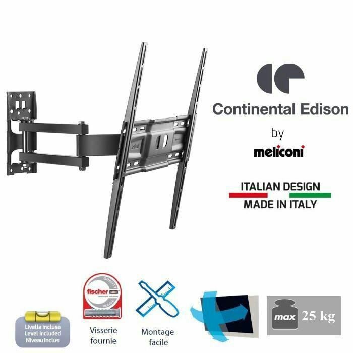 Support TV orientable Continental Edison 400NORI12