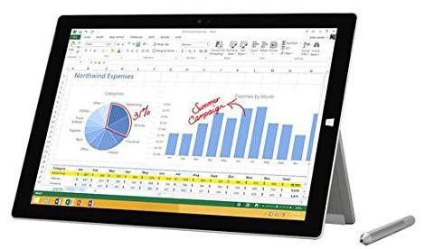"Tablette 12"" Surface Pro 3 - i5-4300U, 128Go, Noir"