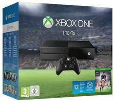 Pack Console Xbox One 1To + une seconde manette + Jeu Fifa 16