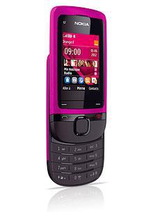 Vente flash à partir de 19h : Téléphone Nokia C2-05 Rose