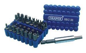Assortiment d'embouts Draper Sec 33 - 33 pièces
