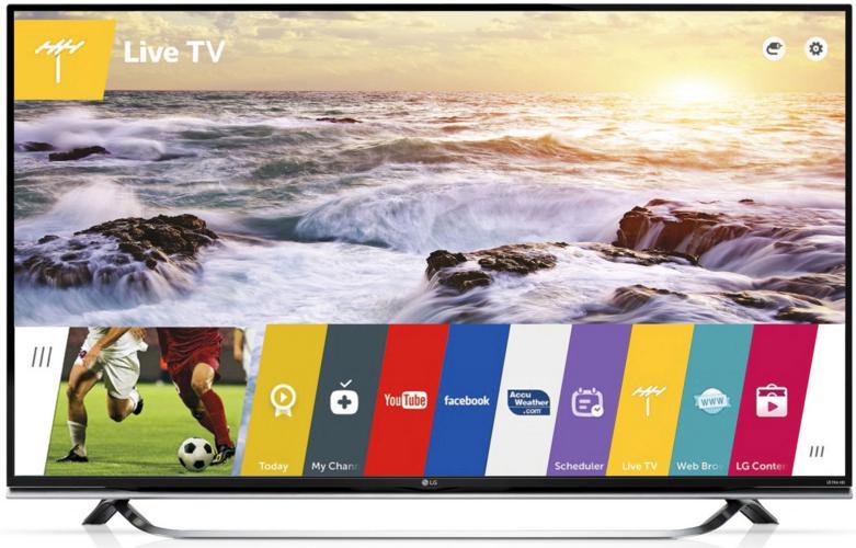 """TV 55"""" LG 55UF850V - 4K - 3D (via ODR 150€)"""